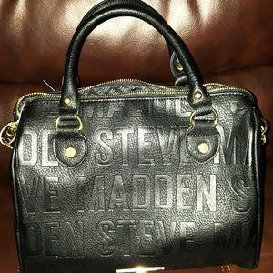 Black Steve Madden Satchel Handbag